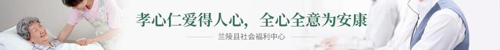 兰陵县社会福利中心